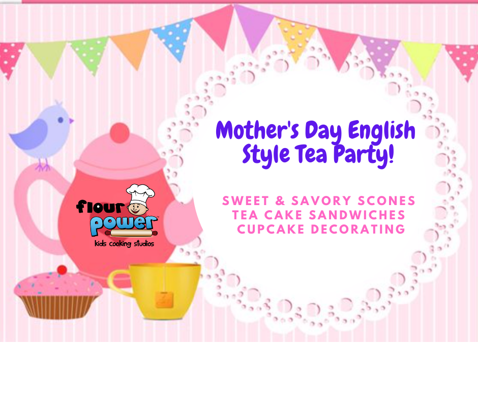 Mother's Day English Style Tea Party