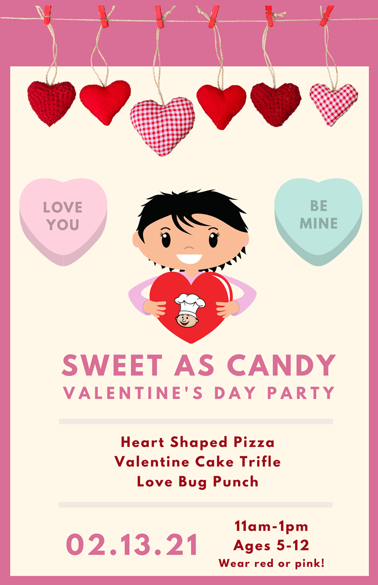 Kids Day Out - Sweet as Candy Valentine's Party
