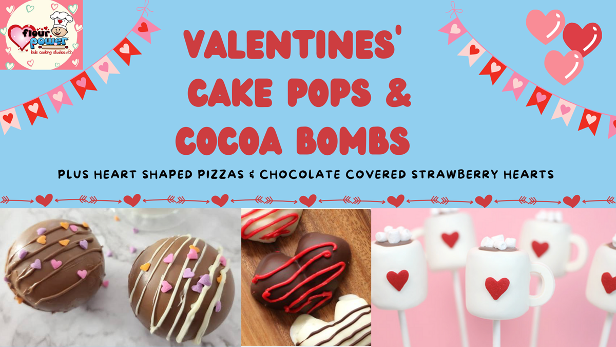 Valentine's Cake Pops and Cocoa Bombs Workshop