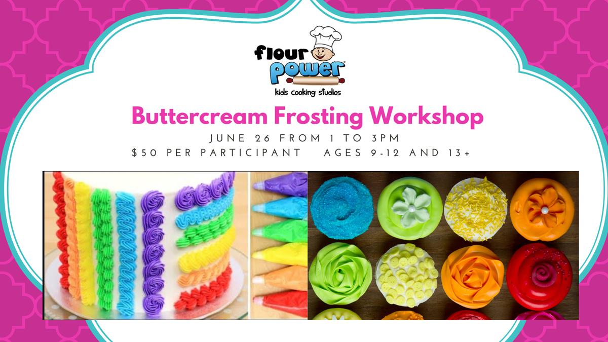 Buttercream Frosting Workshop