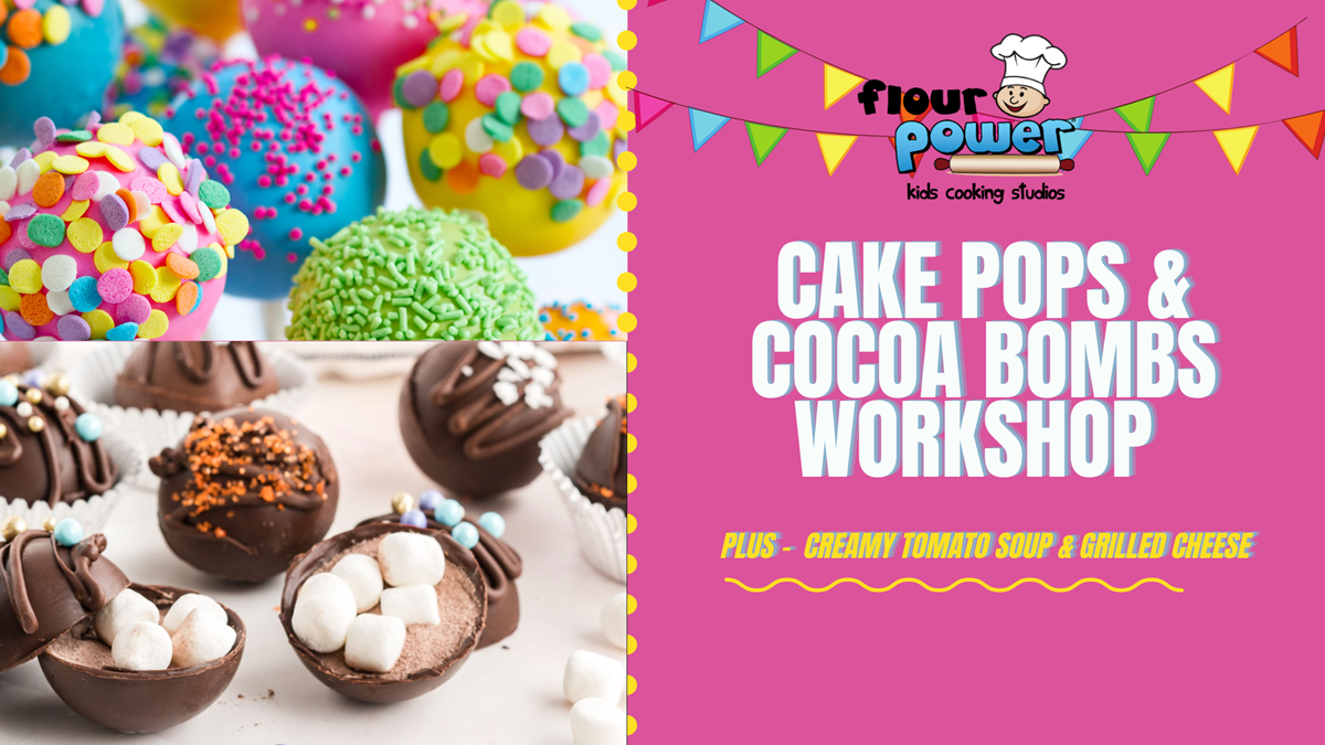Cake Pops and Cocoa Bombs