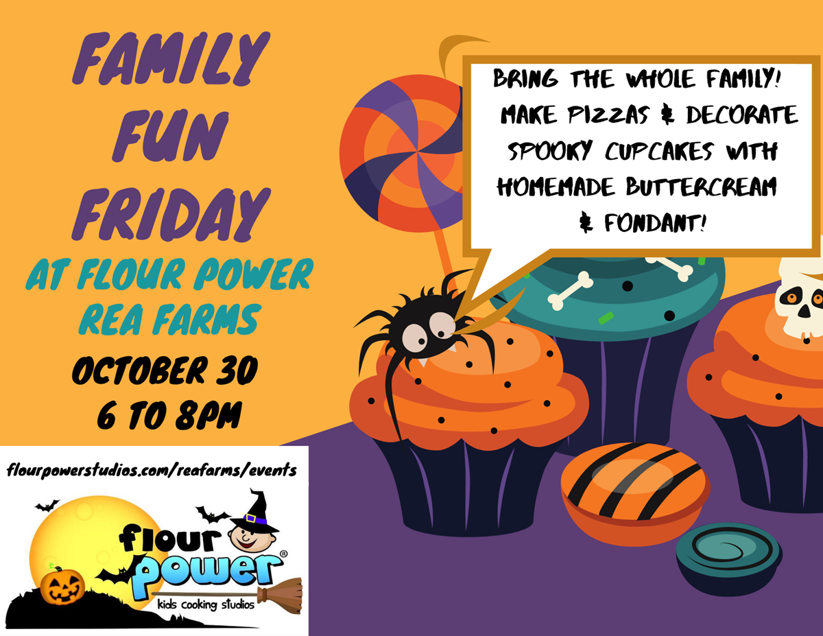 Halloween Cupcake and Pizza Family Fun Friday!
